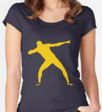 Usain Bolt Women's Fitted Scoop T-Shirt