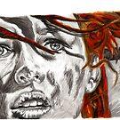 Leeloo Dallas - Perfect Being by Tony Heath