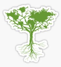 Earth Tree Sticker