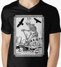 TAROT: Death Men's V-Neck T-Shirt