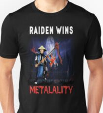 Raiden Wins Metalality (Iron Maiden) Unisex T-Shirt