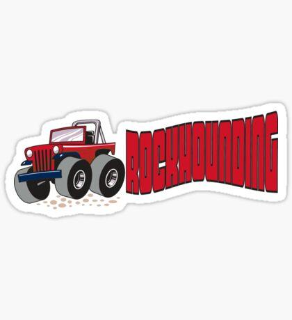 Rockhounding Sticker