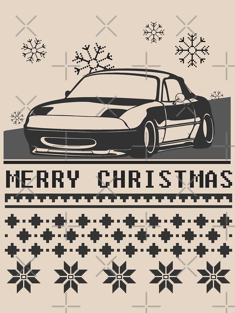Frohe Weihnachten Miata von TswizzleEG
