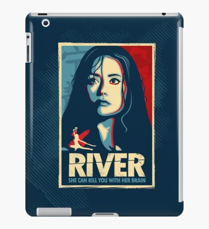 She Can Kill You With Her Brain iPad Case/Skin