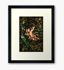 ✾◕‿◕✾LITTLE ANGELS N TINSEL ✾◕‿◕✾ Framed Print