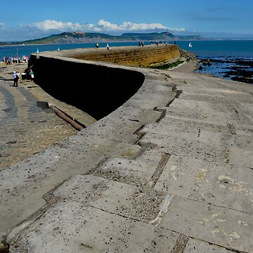 The Cobb, Lyme Regis by pautrat