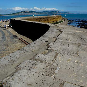 The Cobb, Lyme Regis by pautrat