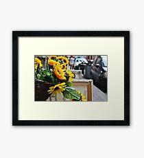 Italian Sunflowers Framed Print