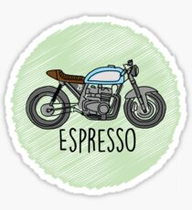 Espresso - Cafe Racer Sticker