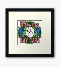 Camp Crystal Lake Daycare Framed Print