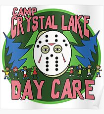 Camp Crystal Lake Daycare Poster