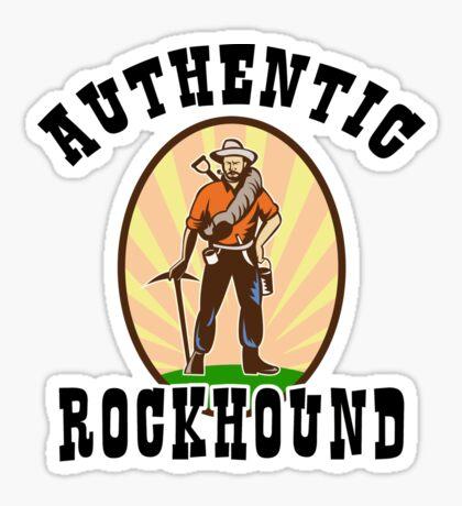 Authentic Rockhound Sticker