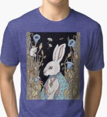 Waiting For The White Queen Tri-blend T-Shirt