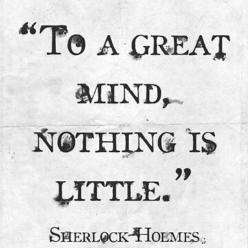 Sherlock Holmes by lechisho