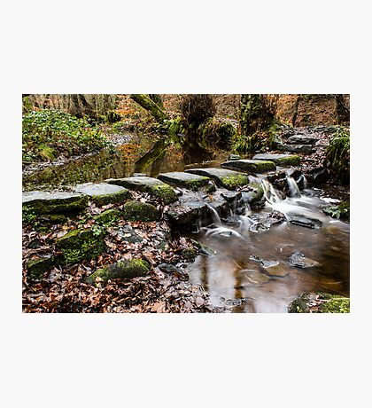 Stepping Stones Photographic Print