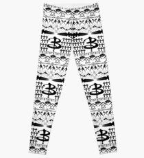 Buffy Ugly Holiday Sweater Pattern Leggings