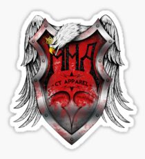 MMA CT Apparel Sticker