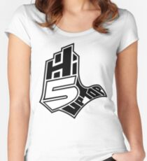 Hi-5 Up Top Women's Fitted Scoop T-Shirt