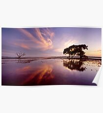 Point Victoria Sunset Poster