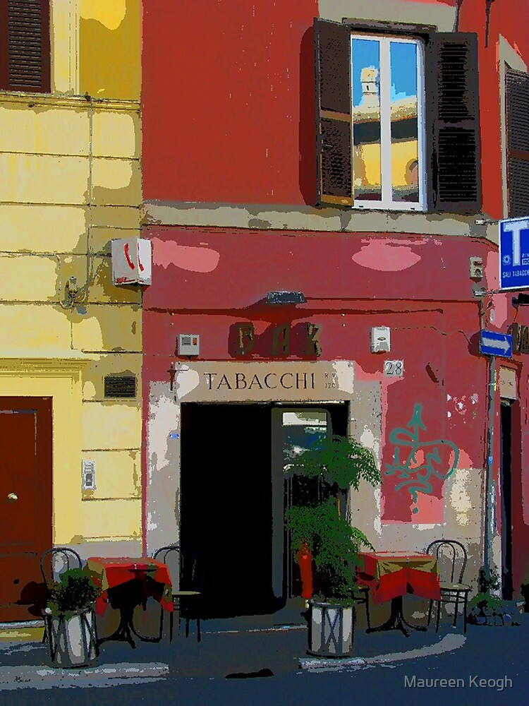 Rome - Tabacchi by Maureen Keogh