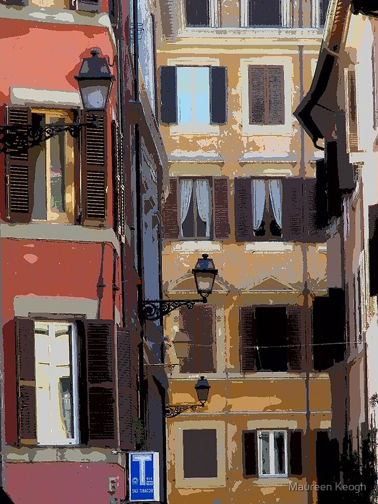 Rome - streetscape by Maureen Keogh
