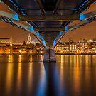 Millenium Bridge, London by Colin White