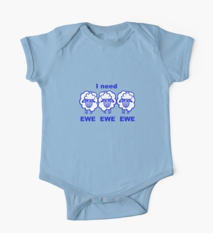 Blues Sheep Kids Clothes