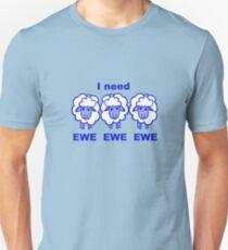 Blues Sheep Unisex T-Shirt
