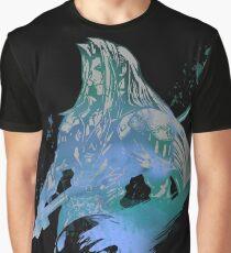 Sephiroth Grafik T-Shirt
