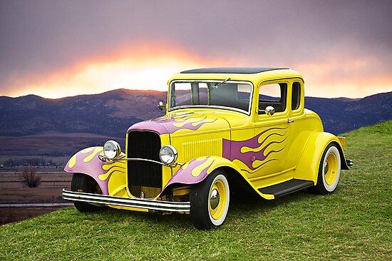 1932 Ford 5 Window Coupe II by DaveKoontz