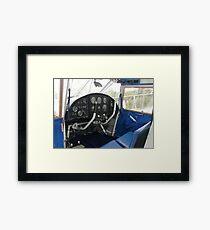 Analogue Cockpit Framed Print
