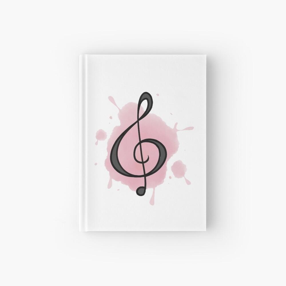 Watercolor Music Cuaderno de tapa dura
