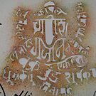 Lord Ganesh with Names by S S.