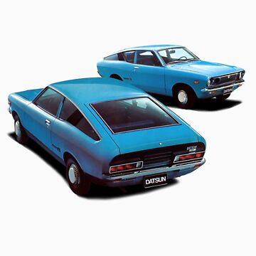 Datsun 120Y Coupe 1973 by tiefholz