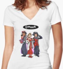 Emma is Clueless Women's Fitted V-Neck T-Shirt