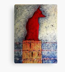 Red Dog Day Canvas Print
