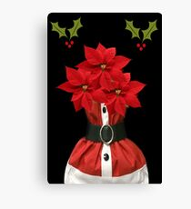 ❤‿❤ POINSETTIA CARD/PICTURE ❤‿❤ Leinwanddruck
