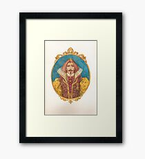 His Highness Framed Print
