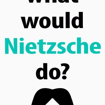 what would Nietzsche do? by emilylookshigh