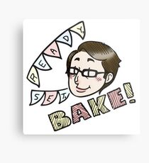 Sue Says Bake! Metal Print