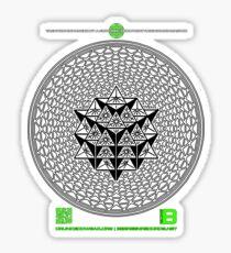 META PHI 11 BY VII23 - DEC 2012 - OFFICIAL MERCH Sticker