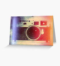 Leica tribute Greeting Card