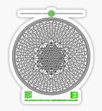 META PHI 22 BY VII23 - DEC 2012 - OFFICIAL MERCH Sticker