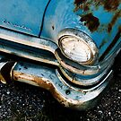 Blue Chrysler Sedan by Sam Scholes