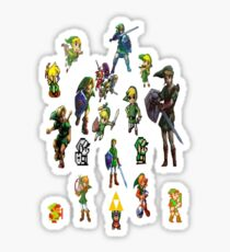 Legend of Zelda Links Sticker