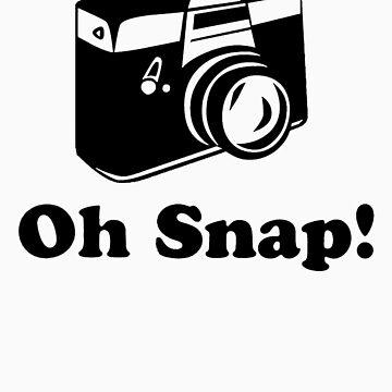 Oh Snap!- Black by emmakoehle