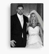 Ryan and Crissy McClintock Wedding II Canvas Print