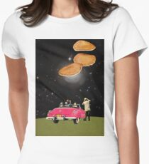 Unidentified flying object Womens Fitted T-Shirt