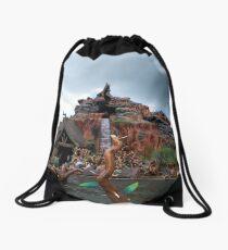 Splash Mountain Drawstring Bag