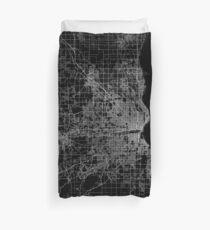Funda nórdica Milwaukee map Wisconsin
